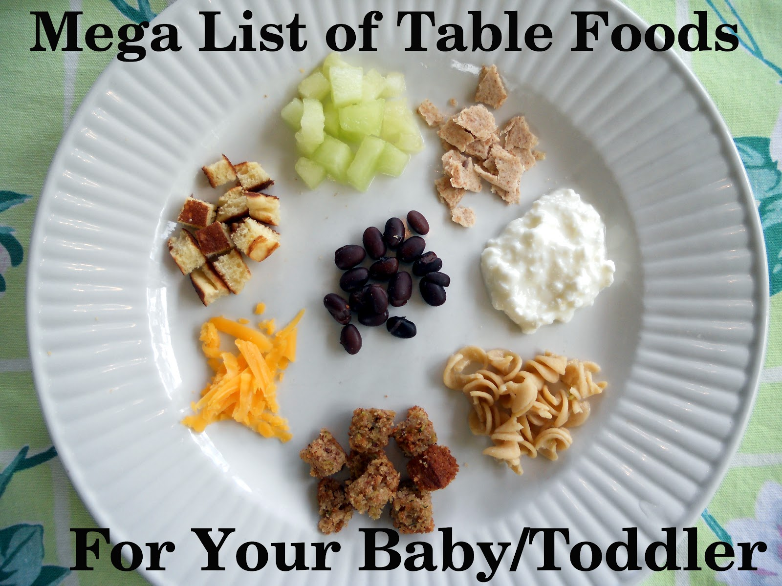 Mega List Of Table Foods For Your Baby Or Toddler Your
