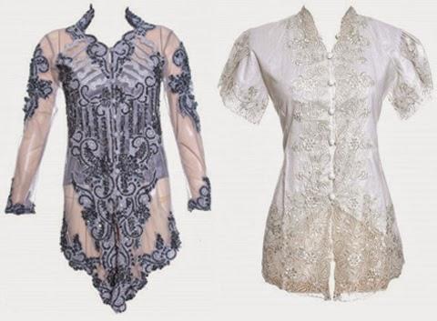 Gambar Model Baju Kebaya Modern Terbaru 2018