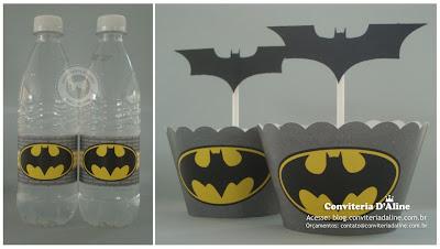 decoração personalizada Batman