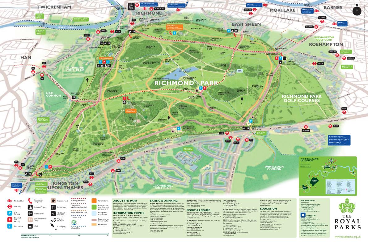 Map Richmond Windsor - Windsor map