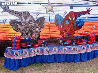 Decoración de fiestas infantiles: el Hombre Araña