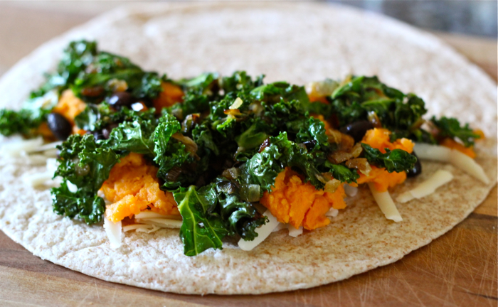 Kale and sweet potato quesadillas: a recipe and some notes ...