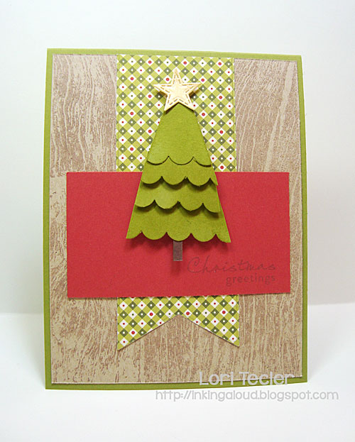 Christmas Greetings card-designed by Lori Tecler/Inking Aloud-stamps from Waltzingmouse Stamps