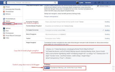 copy kode html facebook