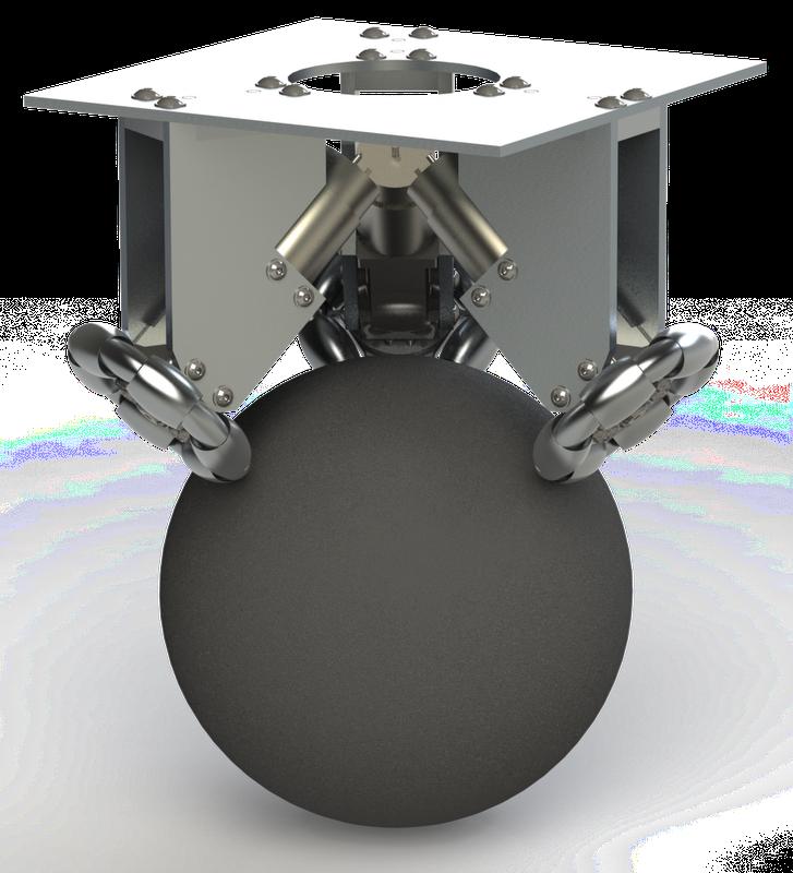 Hackproj robot omniwheels for Robot motors and wheels