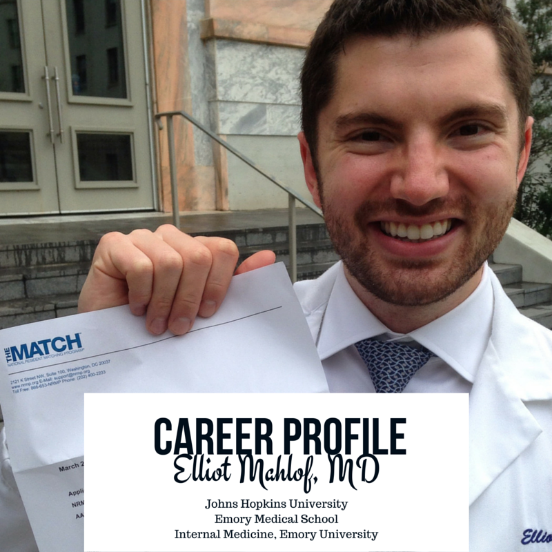 Career Profile: Elliot Mahlof, MD
