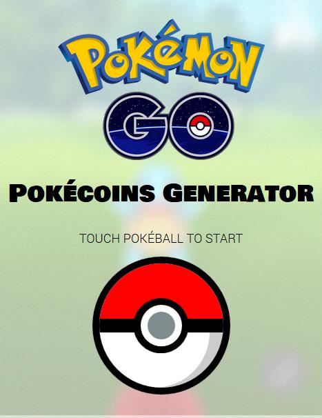 PokeCoins Generator