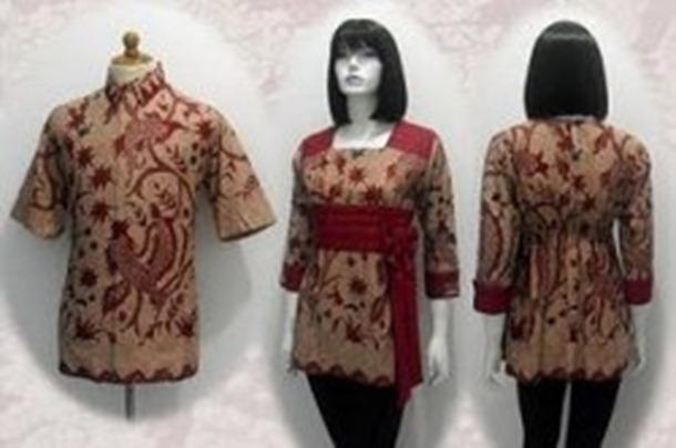 Model Baju Batik Terbaru Trend Batik Modern 2013 | Black Models ...