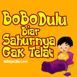 DP BBM sahur Ramadhan