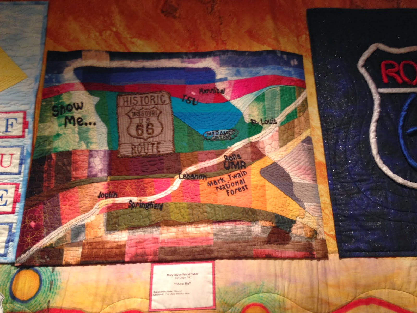 ROUTE 66 TRAVELING QUILT SHOW | The Quilting Queen Online : route 66 quilt pattern - Adamdwight.com