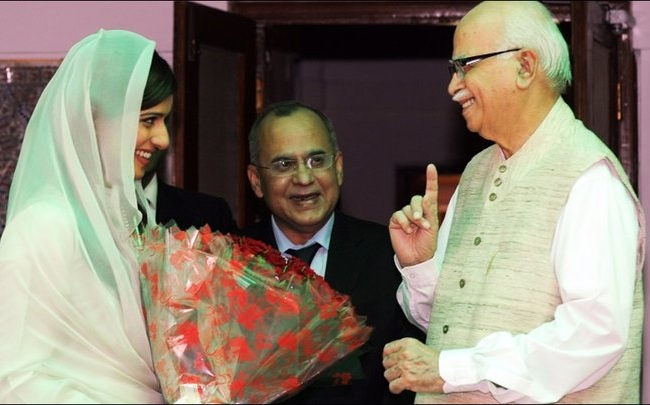 lk advani in pakistan