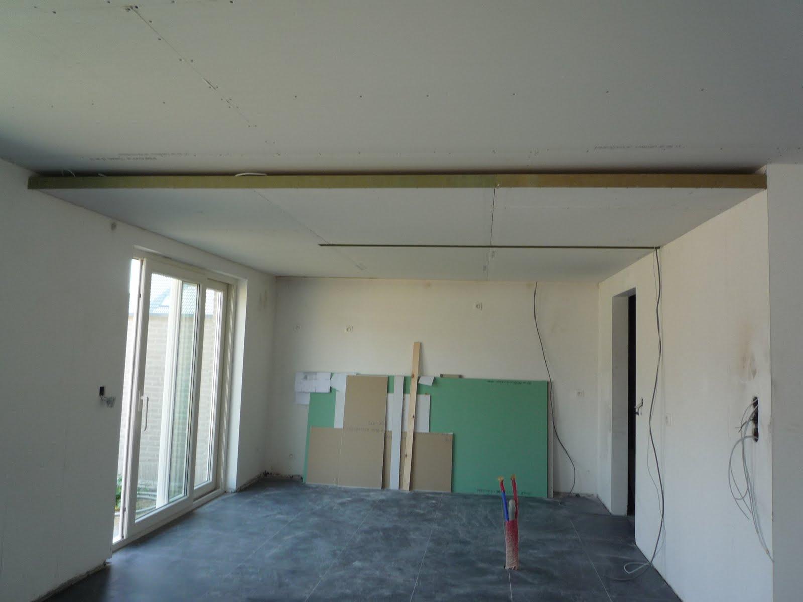 Plafond Verlagen Keuken : Uitsparing voor lichtbak in keuken
