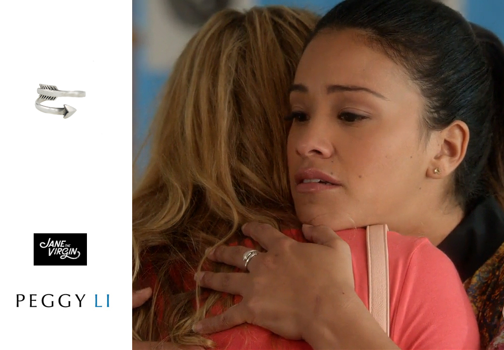 Gina Rodriguez Arrow Ring Jane the Virgin