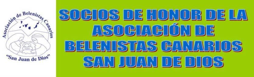 SOCIOS DE HONOR DE LA ASOCIACIÓN DE BELENISTAS
