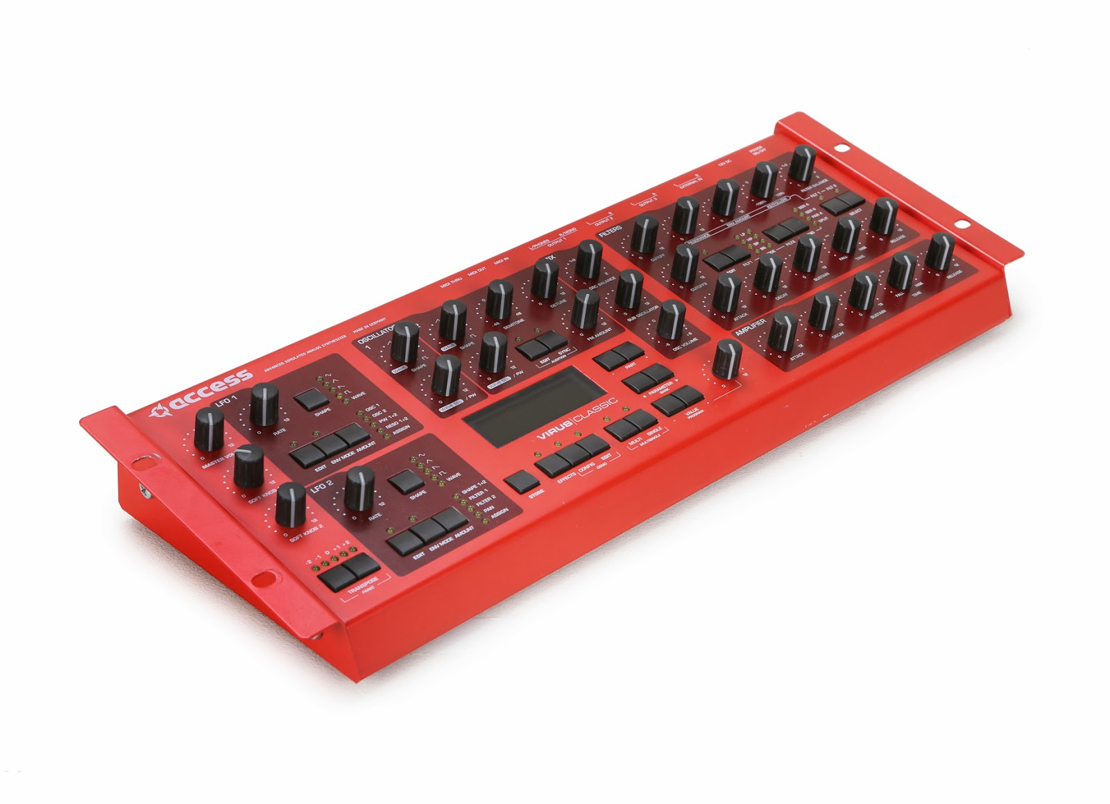 rack mounted synth