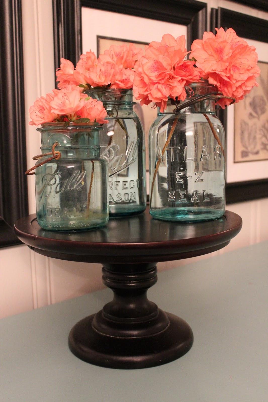 southern tradition blue mason jars southern state of mind. Black Bedroom Furniture Sets. Home Design Ideas
