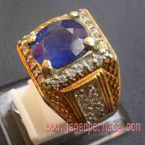 Batu Permata Blue Safir