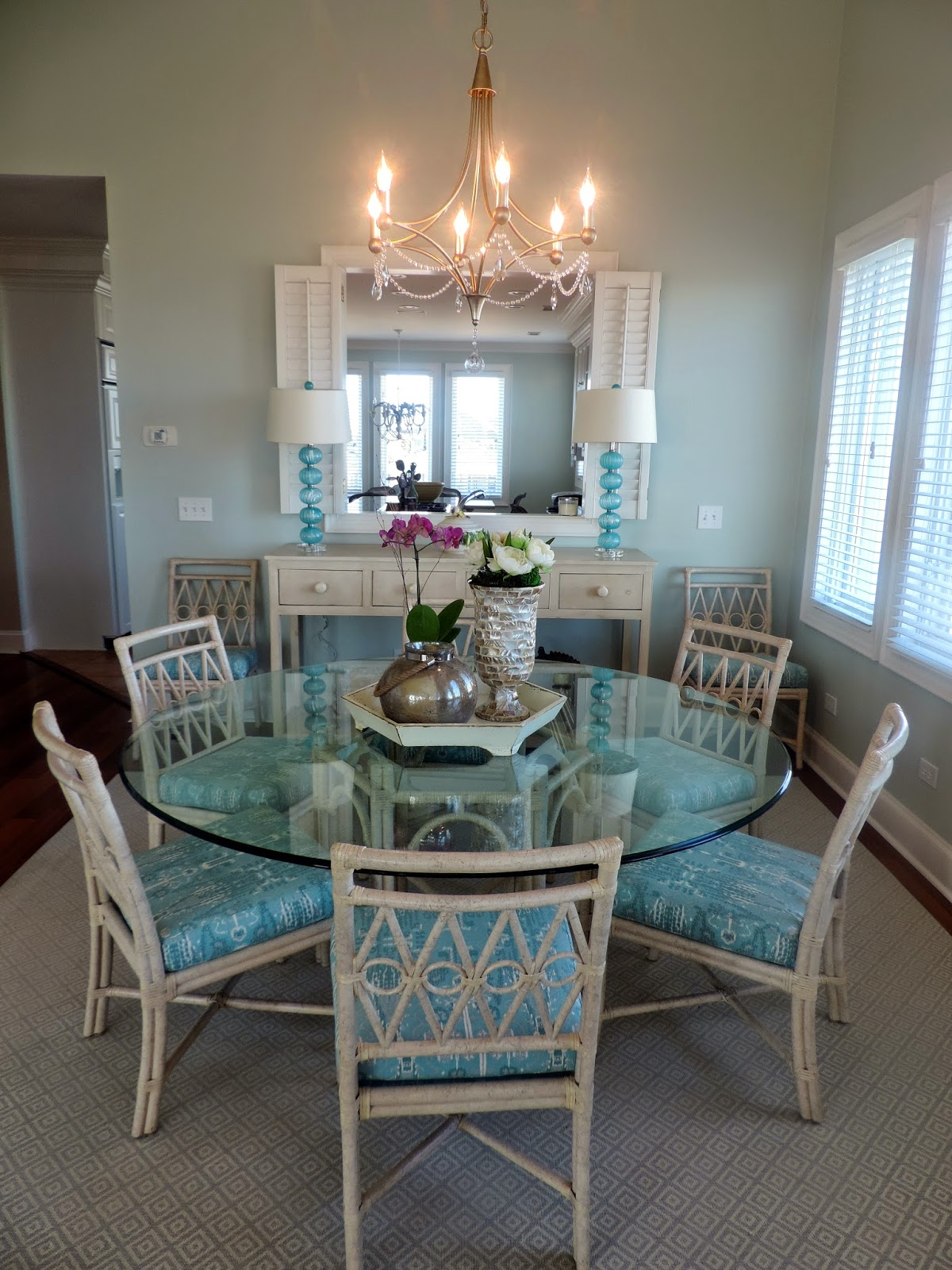 Birds Of A Feather Beach House Dining Room Before And After