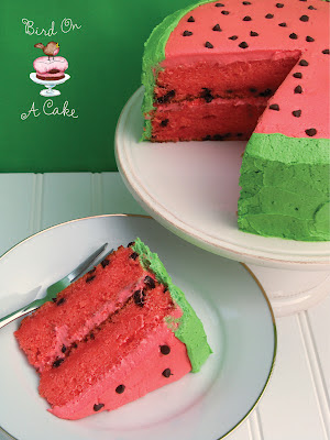 Bird On A Cake Watermelon Flavored Cake