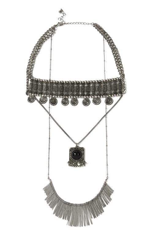 Los collares de estilo boho estan de regreso, animate a usarlo