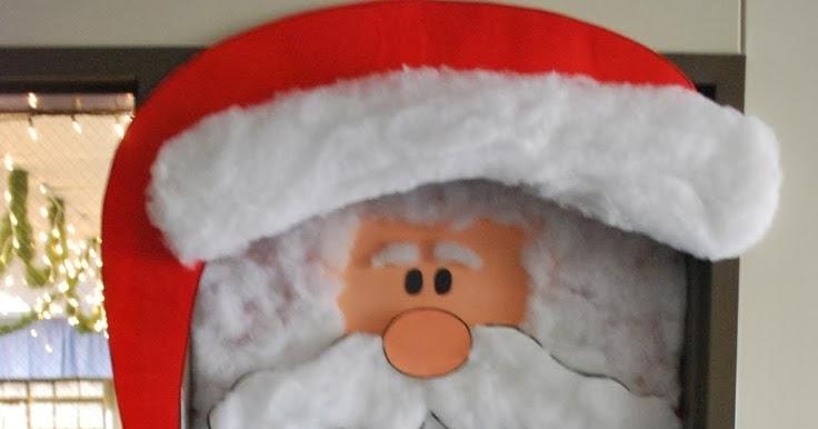 C mo decorar una puerta en navidad for Decorar las puertas en navidad