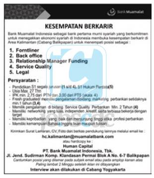 Bank Muamalat Indonesia ( sumber )