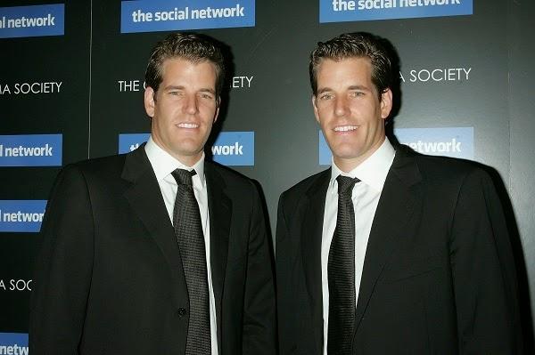 Cặp song sinh nhà Winklevoss ngưng kiện Facebook