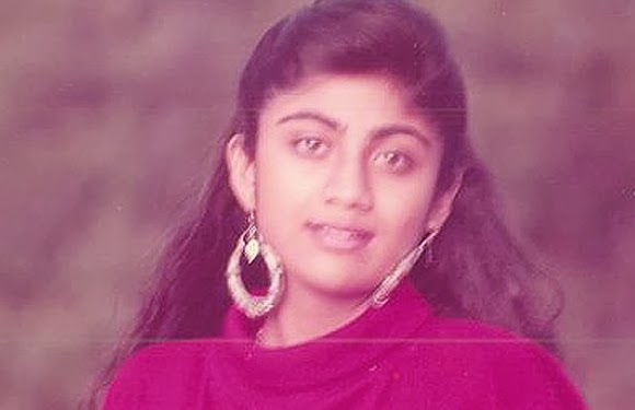 childhood rare photos of shilpa shetty