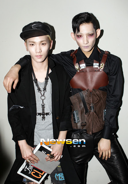 Shinee Key Park Hyeong Seop Seoul Fashion Week 130326
