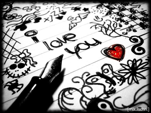 I Love you - Imagen Emo de Amor