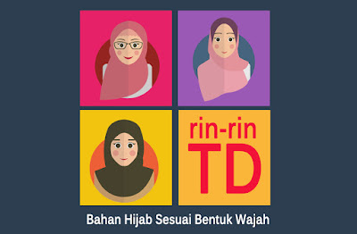 Bahan Hijab Yang Bagus utk bentuk Wajah
