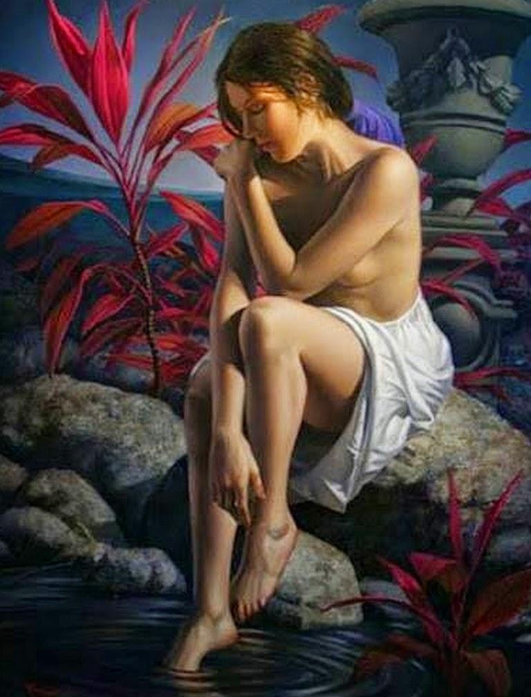 mujeres-pintadas-en-realismo