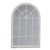 http://www.exclusivemirrors.co.uk/decorative-wall-mirrors/white-arched-window-mirror-151-x-100cm