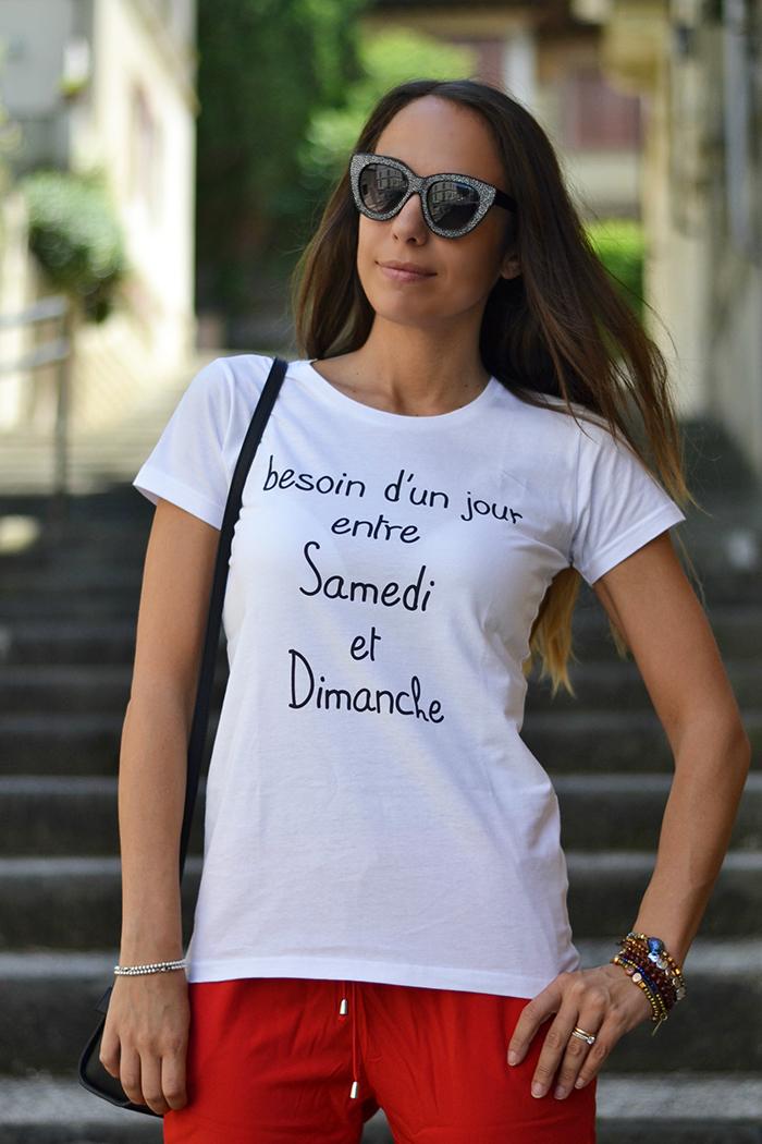 maglietta stampa ironica