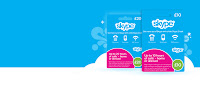 Skype Prepaid Card UK