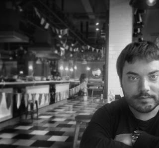 Sergio Parra (El elemento del que solo hay un gramo de Editorial Guadalmazán)