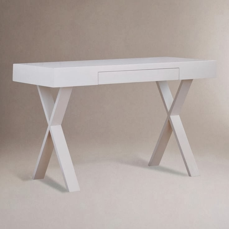 world market, josephine desk, white modern desk