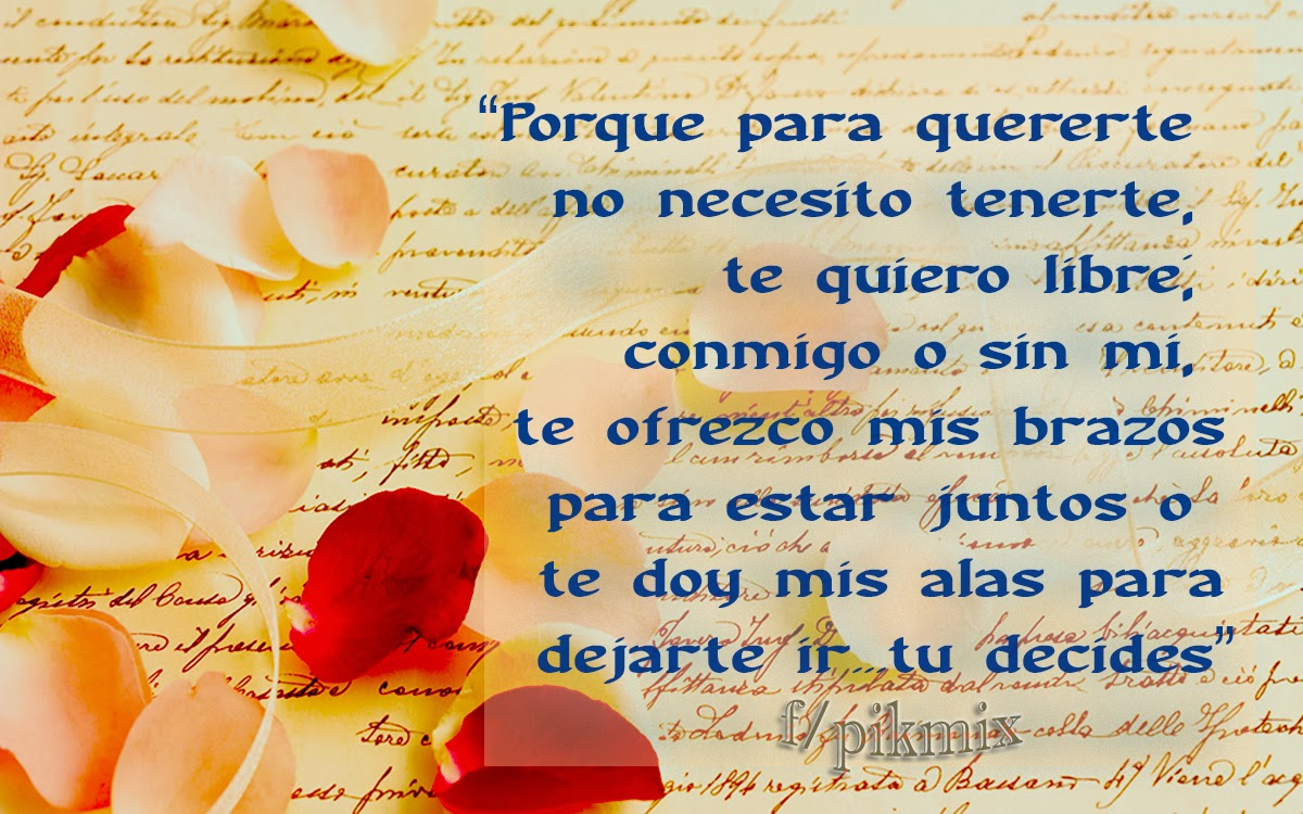 Tu decides ~ Tarjetitas ~ Palabritas de amor, petalos de rosas