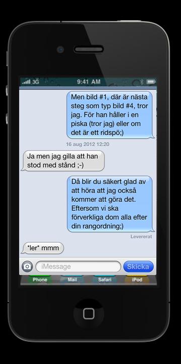 flickvän har kontakt med ex Höganäs