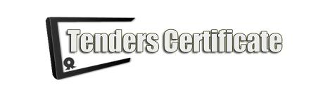 Tenders Certificate