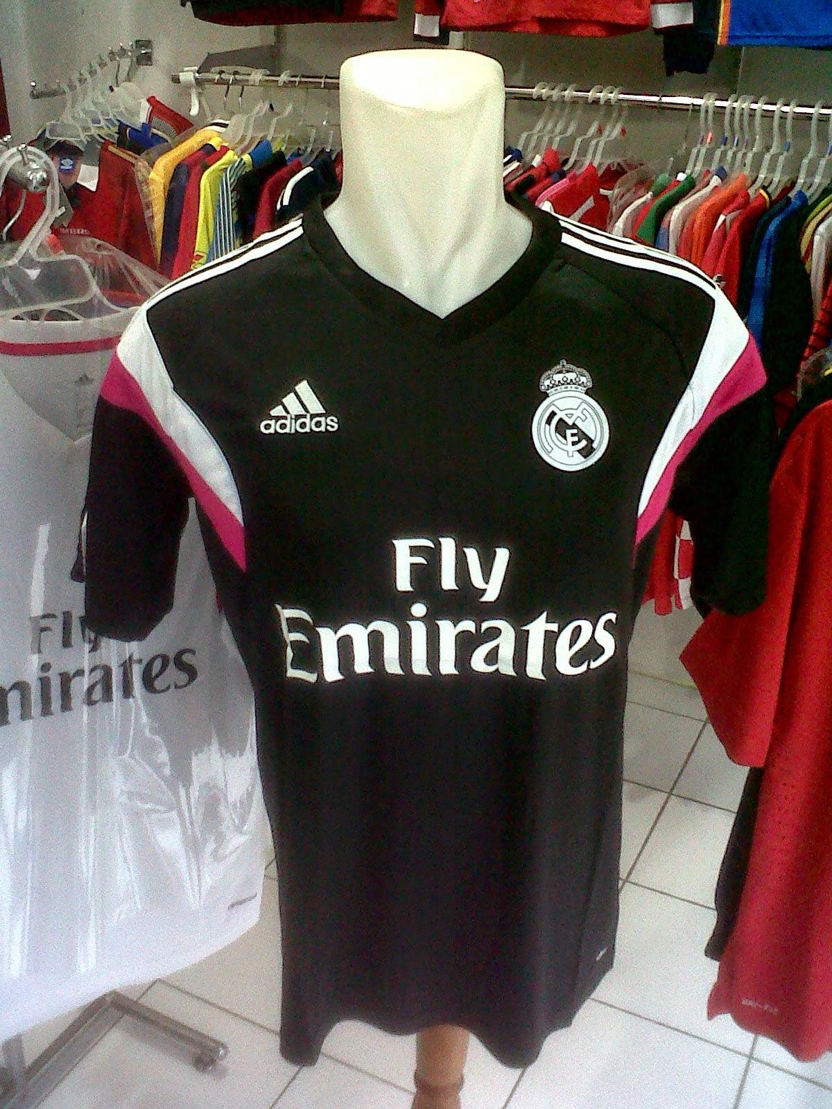 Jersey Training Real Madrid Black 2014/2015