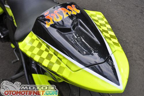 Modifikasi Kawasaki Ninja 650