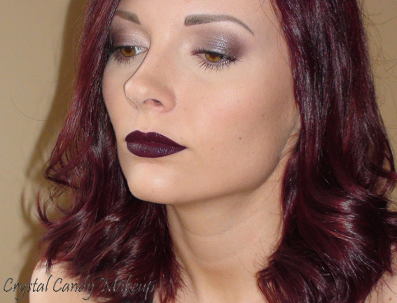 FOTD MAC Glamour Daze : Dramatic Encounter, Nightmoth, Whisper of Gilt, A Natural Flirt, Stolen Moment, Orpheus, MUFE Aqua Brow #25. Hair : By Fama + Fudge Paintbox Hair Color