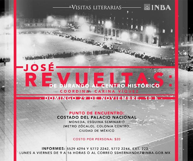 De Durango al Centro Histórico con José Revueltas en su centenario