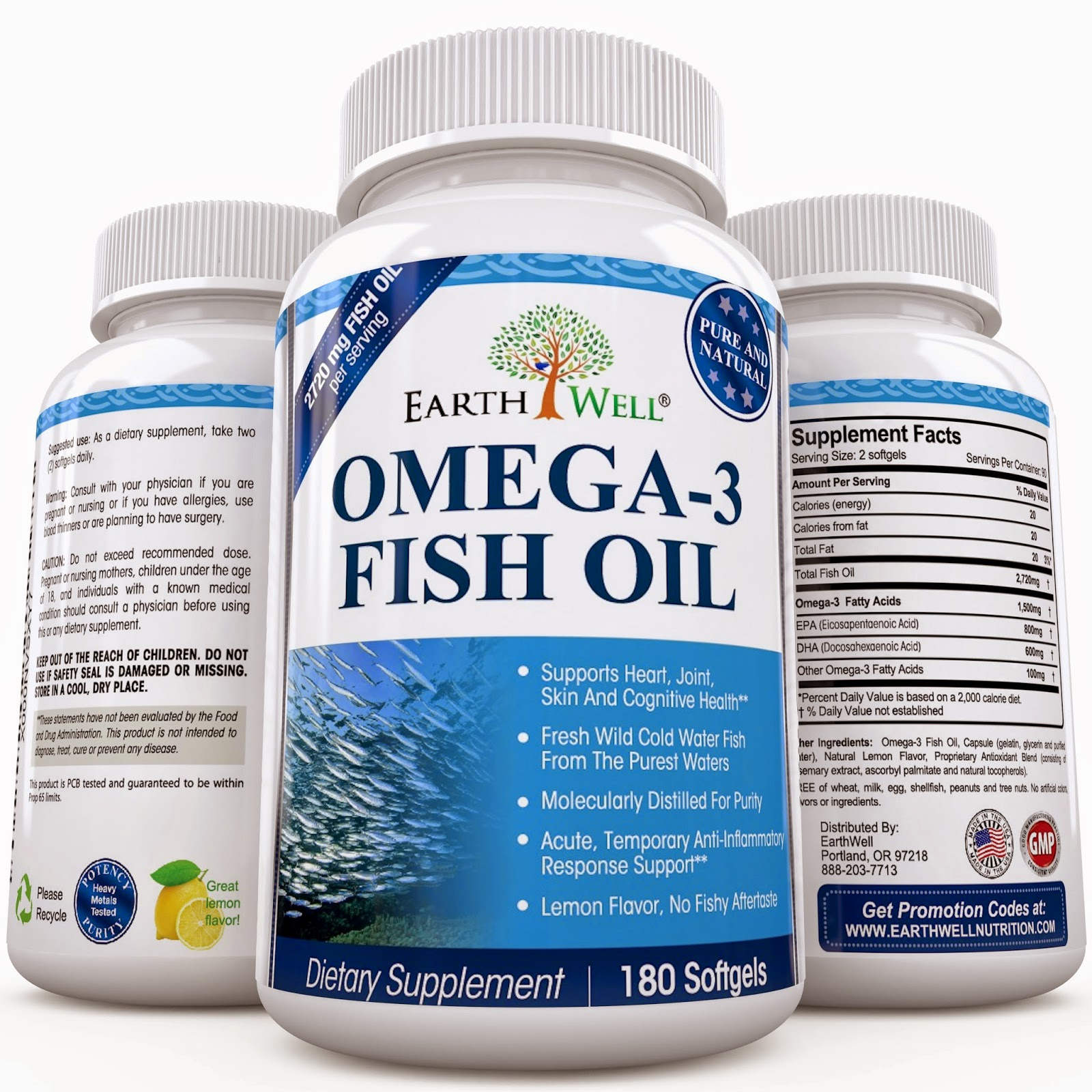 Simple savings omega 3 fish oil supplement lemon for Omega 3 fish oil reviews