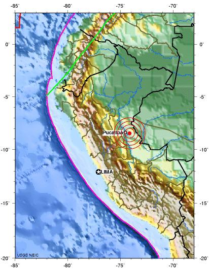Central peru earthquake 2012 july 13