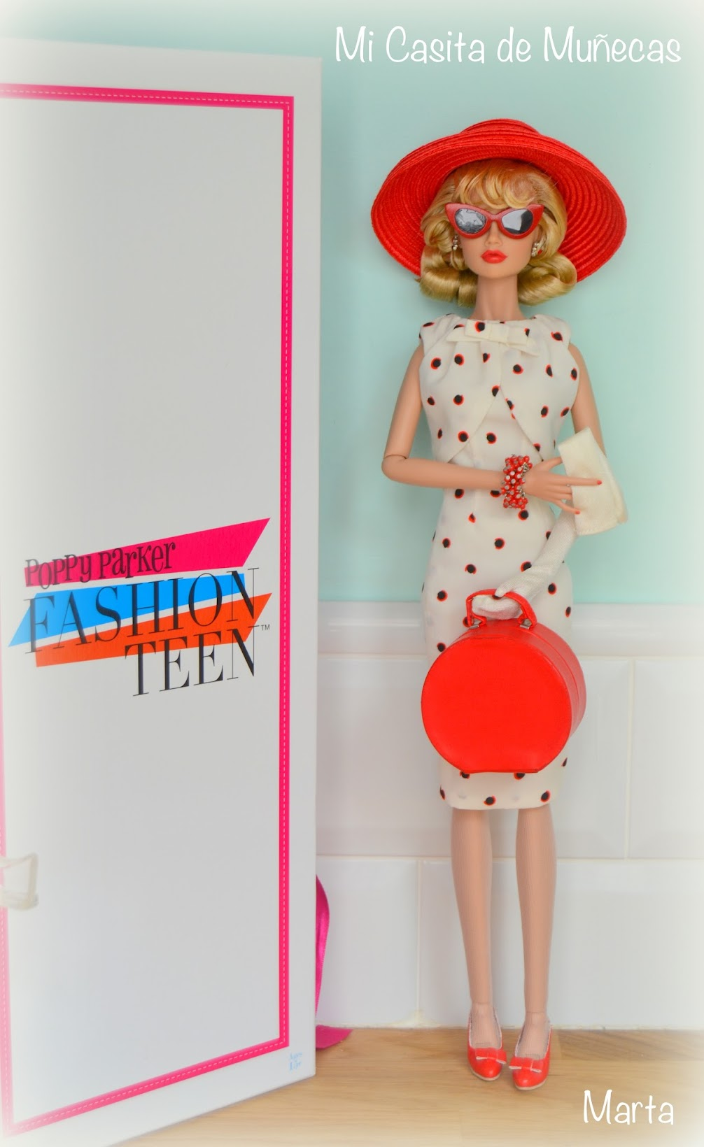 Poppy Parker One fine day, Integrity Toys 2012. Mi Casita de muñecas.