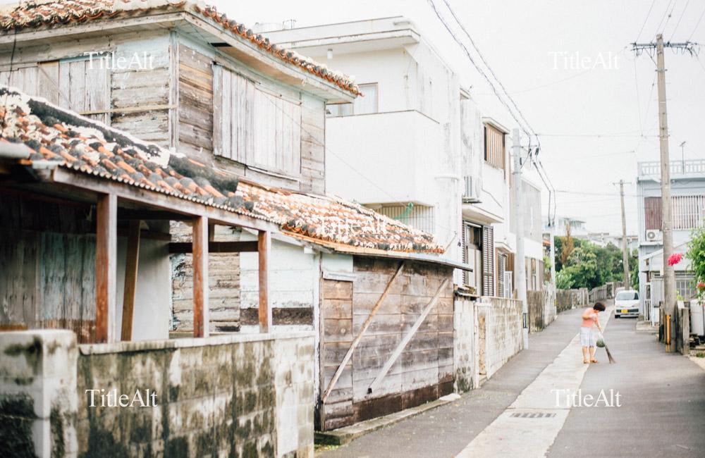 石垣島の朝の写真