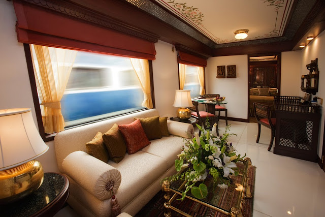 Presidential Suite of Maharahas' Express Train