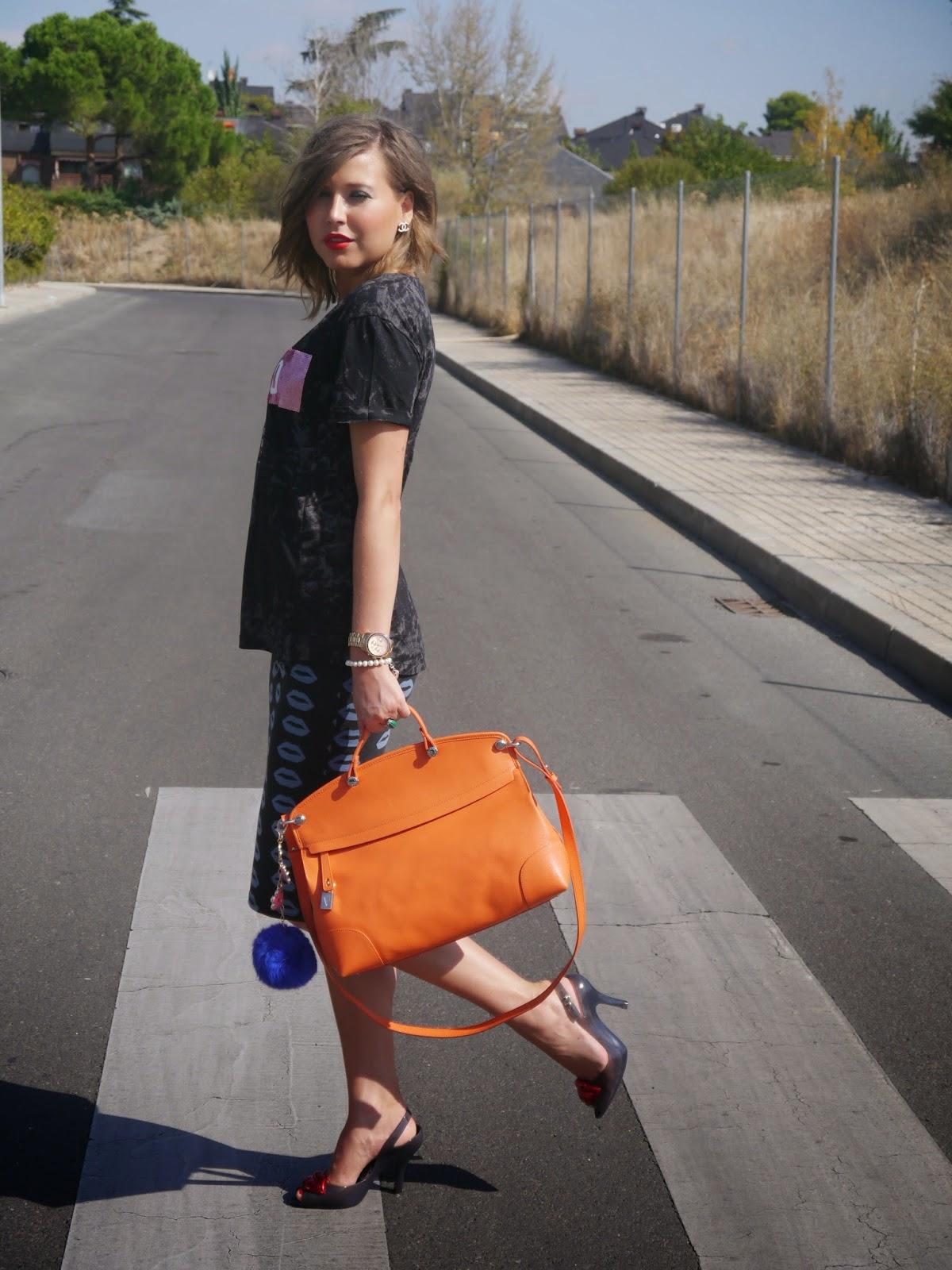 Stassia Pliuta - Stassia Tropicana Skirt, Vivienne Westwood Bag ...